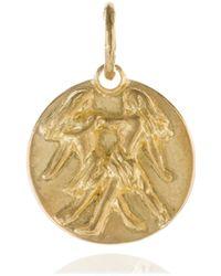 Annoushka - Mythology 18ct Gold Gemini Pendant - Lyst