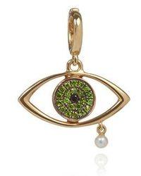 Annoushka - Green Eyes Charm - Lyst