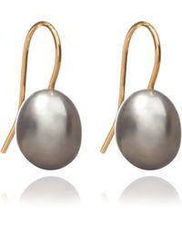 Annoushka - Classic Baroque Pearl Drop Earrings - Lyst