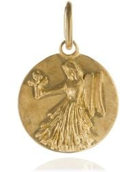 Annoushka - Mythology 18ct Gold Virgo Pendant - Lyst