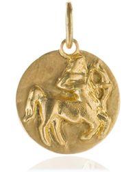 Annoushka - Mythology 18ct Gold Sagittarius Pendant - Lyst