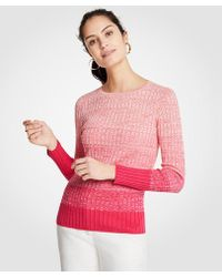Ann Taylor - Ombre Sweater - Lyst
