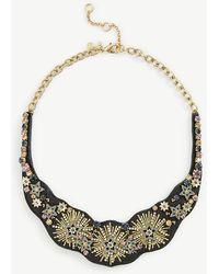 Ann Taylor   Stellar Fabric Statement Necklace   Lyst