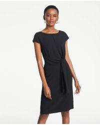 860c5ef2ea Lyst - Ann Taylor Cotton Eyelet Wrap Dress in White
