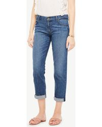Ann Taylor - Girlfriend Jeans - Lyst