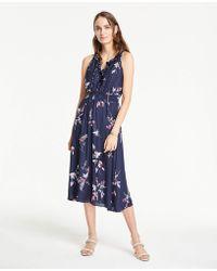 77641f1367070b Ann Taylor Denim Sheath Dress in Blue - Lyst