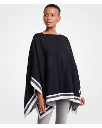 Ann Taylor - Tipped Cape - Lyst