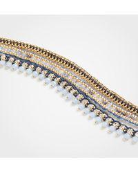 Ann Taylor - Triple Strand Bracelet - Lyst