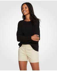 Ann Taylor - Petite Cotton Metro Shorts - Lyst