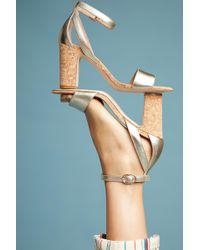 Anthropologie - Femme Cork Heels - Lyst