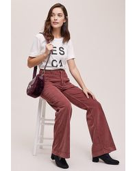 Marrakech - Fargo High-rise Flared Corduroy Trousers - Lyst