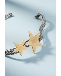 Katerina Psoma - Chainlink Star Collar Necklace - Lyst