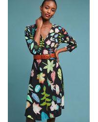 Bl-nk - Colario Printed Wrap Dress - Lyst