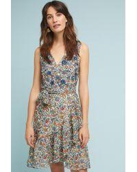 a7c4163c92614 Lyst - Ranna Gill Bankot Maxi Dress in Blue
