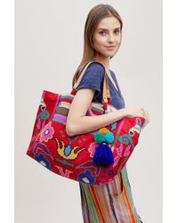 Star Mela - Torni Embroidered Tote - Lyst
