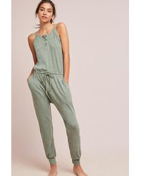 5f828a310046 Anthropologie - Sundry Henley Jumpsuit - Lyst