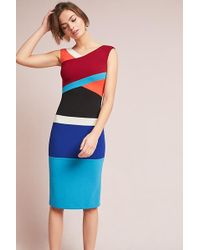 Tracy Reese - Geometric Column Dress - Lyst