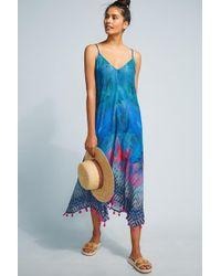 Bl-nk - Destin Tasseled Cover-up Dress - Lyst
