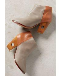 Nina Payne - Halsey Cutout Heel Booties - Lyst