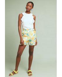Numph - Constanza Silk Shorts - Lyst