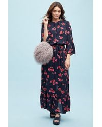 Anthropologie - Canel Faux-fur Circle Tote - Lyst