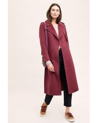 SELECTED - Tana Melange Coat - Lyst