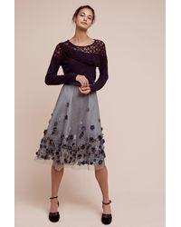 Not So Serious By Pallavi Mohan   Moonlit Garden Tulle Midi Skirt   Lyst