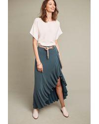 Moulinette Soeurs | Ruffled Maxi Skirt | Lyst