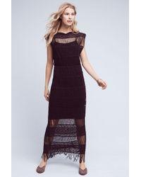 Callahan - Nightward Crocheted Maxi Dress - Lyst