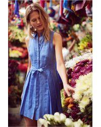 HD In Paris   Printemps Linen Shirtdress   Lyst