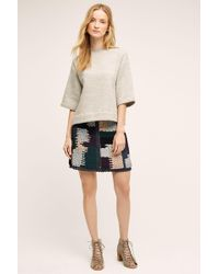 Not So Serious By Pallavi Mohan   Austinian Tweed Mini Skirt   Lyst