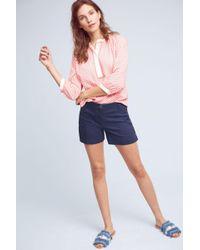 Cartonnier - Buttoned High-rise Shorts - Lyst
