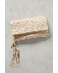 B-Low The Belt - Weaver Foldover Clutch - Lyst