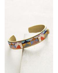 Jill Golden - Inversion Beaded Cuff Bracelet - Lyst