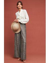 Eva Franco - Striped Hepburn Trousers - Lyst