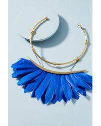Katerina Psoma - Artemis Feather Collar Necklace - Lyst