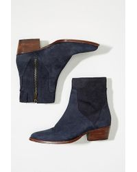 H by Hudson - Suede Boots - Lyst