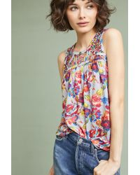 Ranna Gill   Faye Floral Top   Lyst