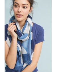 Anthropologie - Camo-printed Scarf - Lyst