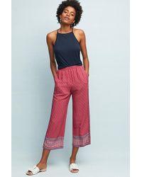 Ett:twa - Marconi Printed Trousers - Lyst