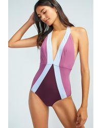 Flagpole Swim   Flagpoloe Jade One-piece Swimsuit   Lyst