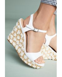 Anthropologie | Platform Wedge Sandals | Lyst