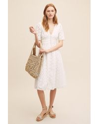 Anthropologie - Robe à broderies anglaises Gaisell - Lyst