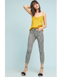 Anthropologie - Bowery Printed Trousers - Lyst
