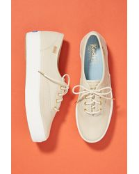 Keds - Triple Kick Leather Sneakers - Lyst
