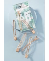 Anthropologie - Open Shape Hair Sectioning Clip Set - Lyst