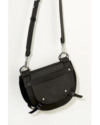 Liebeskind - Half-moon Leather Crossbody Bag - Lyst