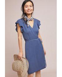 Cloth & Stone - Lori Wrap Dress - Lyst