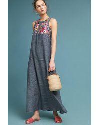 Anthropologie - Gatemore Embroidered Dress - Lyst