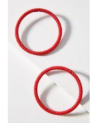 Mishky Hula Hoop Post Earrings GJD9l